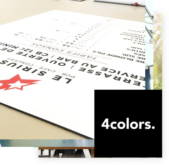 4 colors signalétique lyon le sirius