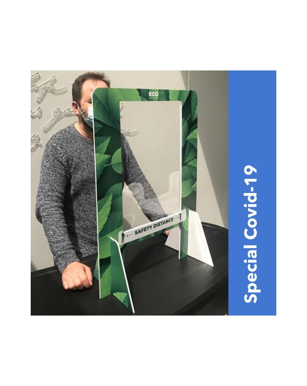 Protection de comptoir en Forex et plexiglass