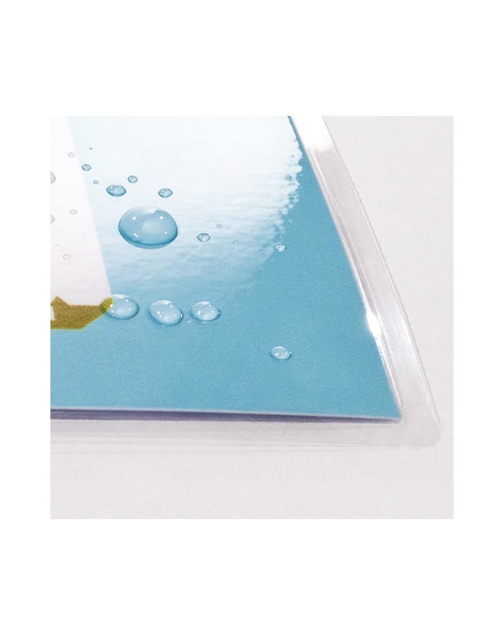 Menu plastifié PVC lavable dépliant A4 Ouvert, 1 pli - Café, Bar, Hôtel, Restaurant