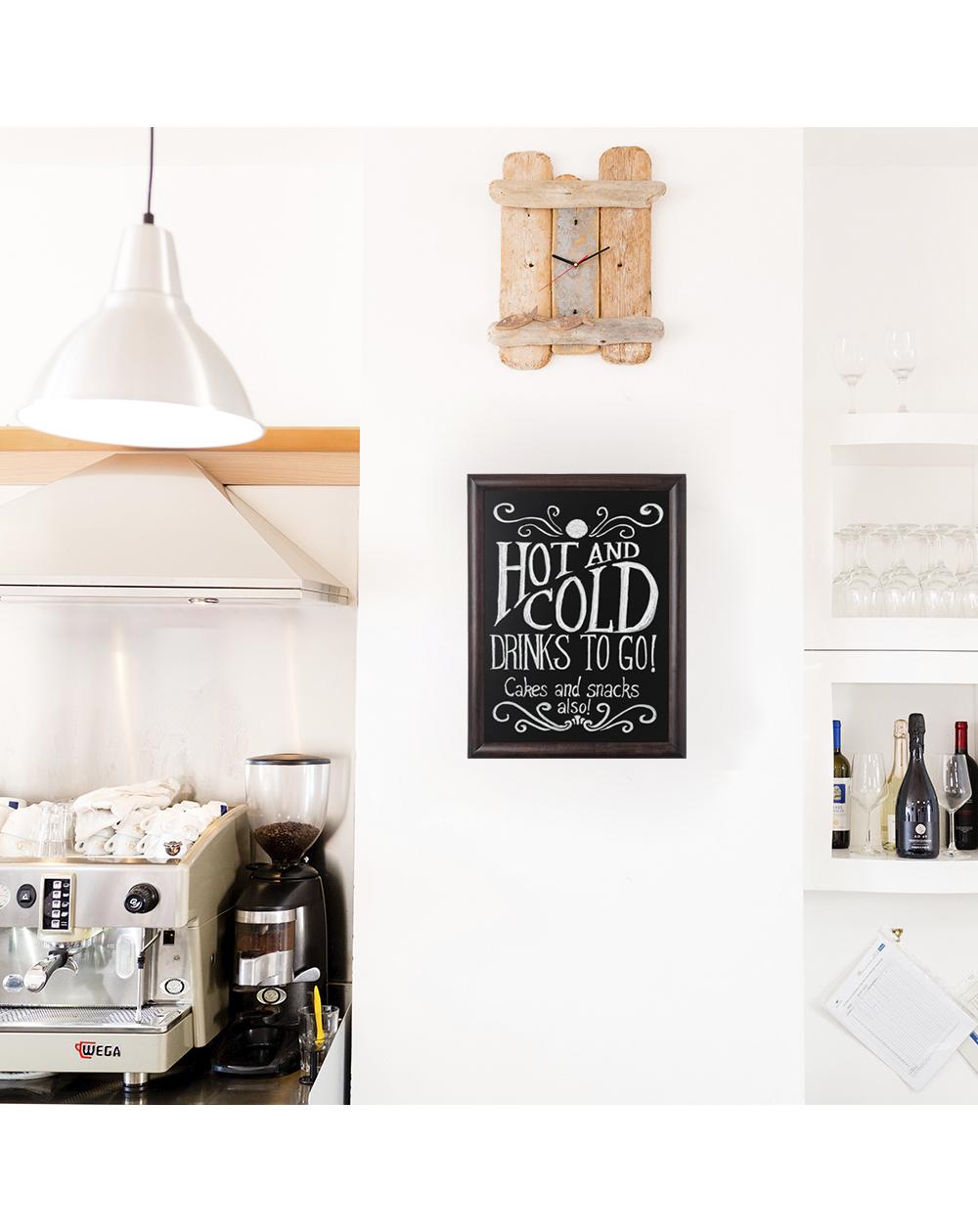 Tableau ardoise profil arrondi pour brasseries et restaurants