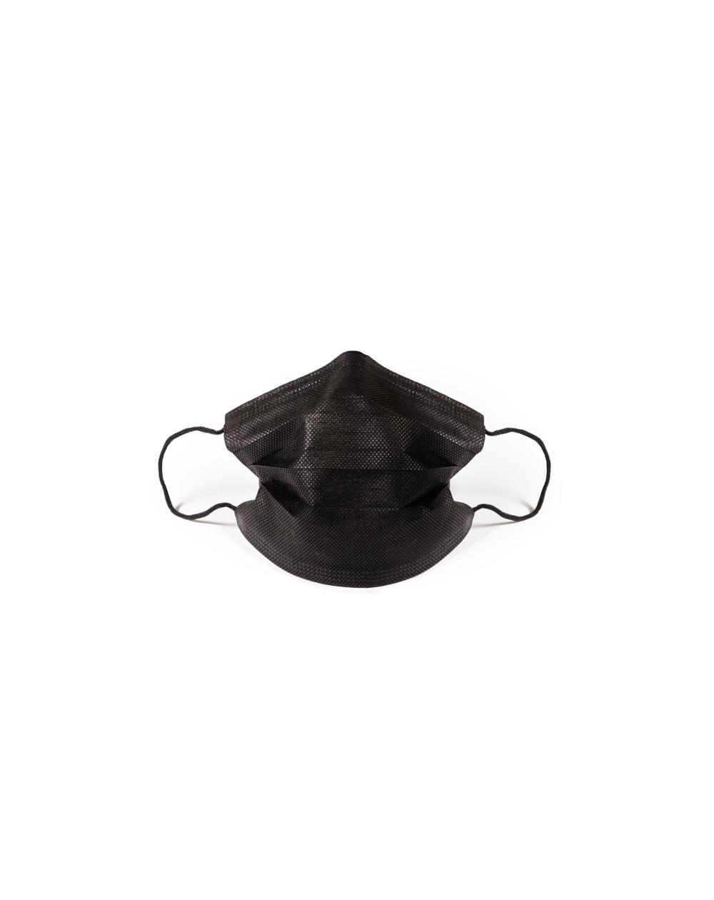 Masque de protection jetable Noir adulte