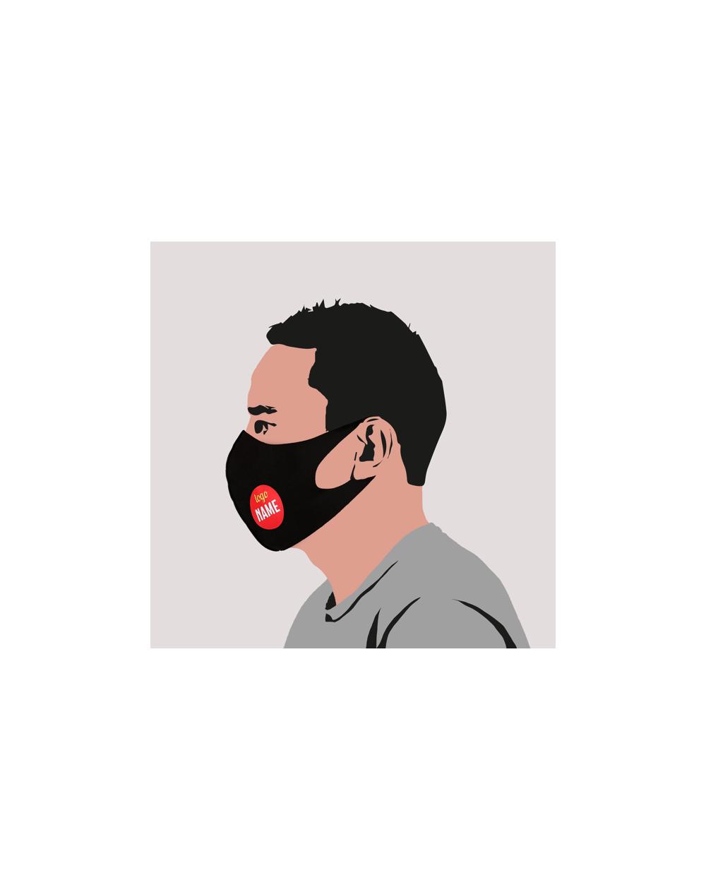 Masque éco personnalisé avec impression Transfert