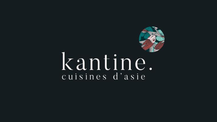Charte graphique & création de logo pour Kantine, Lyon.