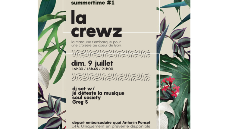 Graphisme Flyer, la Crewz