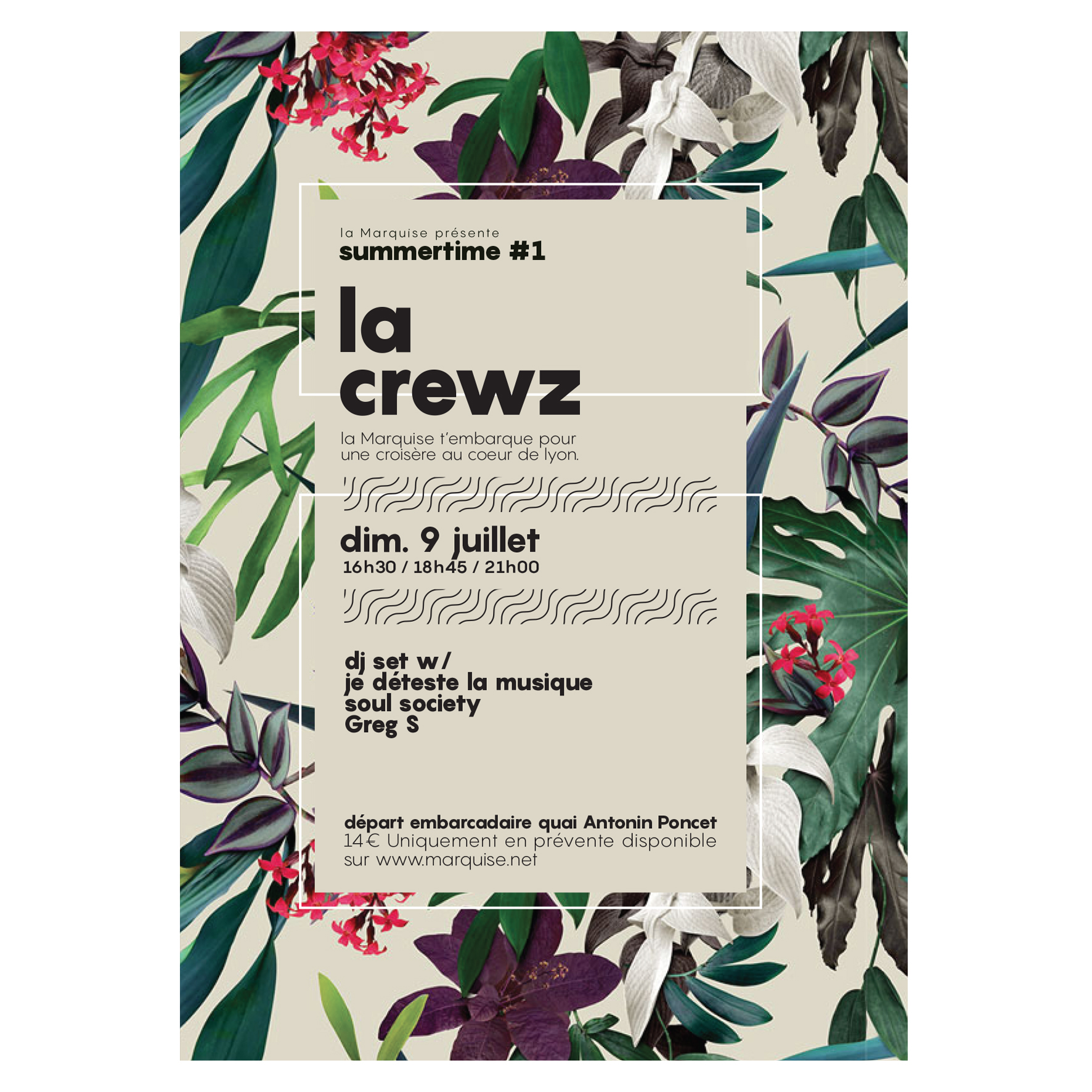 Graphisme Flyer, Design Graphic, La Crewz