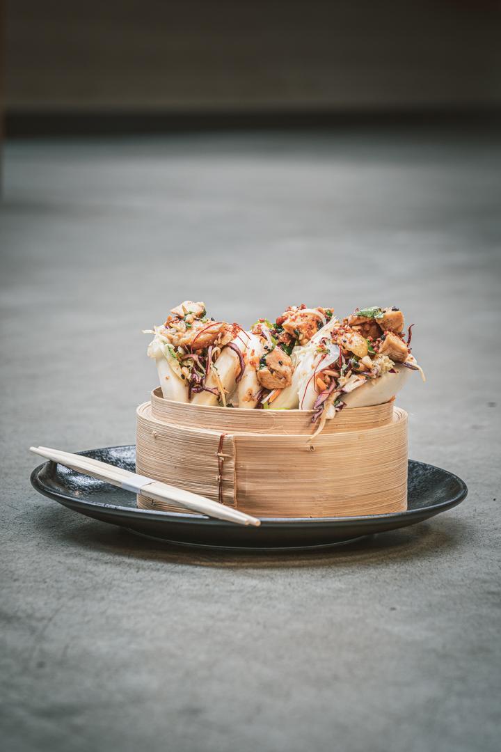 Shooting culinaire lyon same same 4 Colors - Chicken Gua Bao