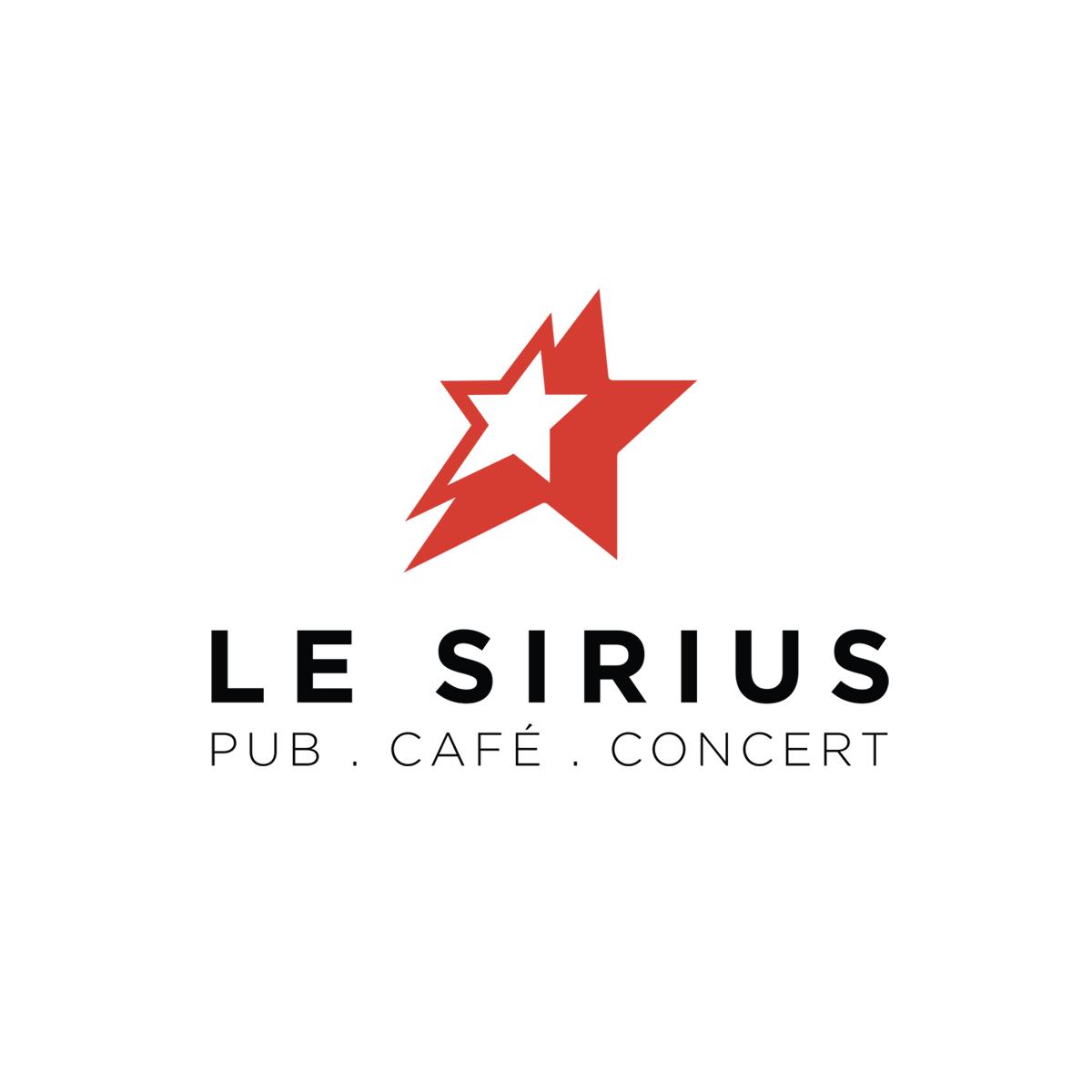 Creation logo refonte logo le Sirius Lyon fond blanc