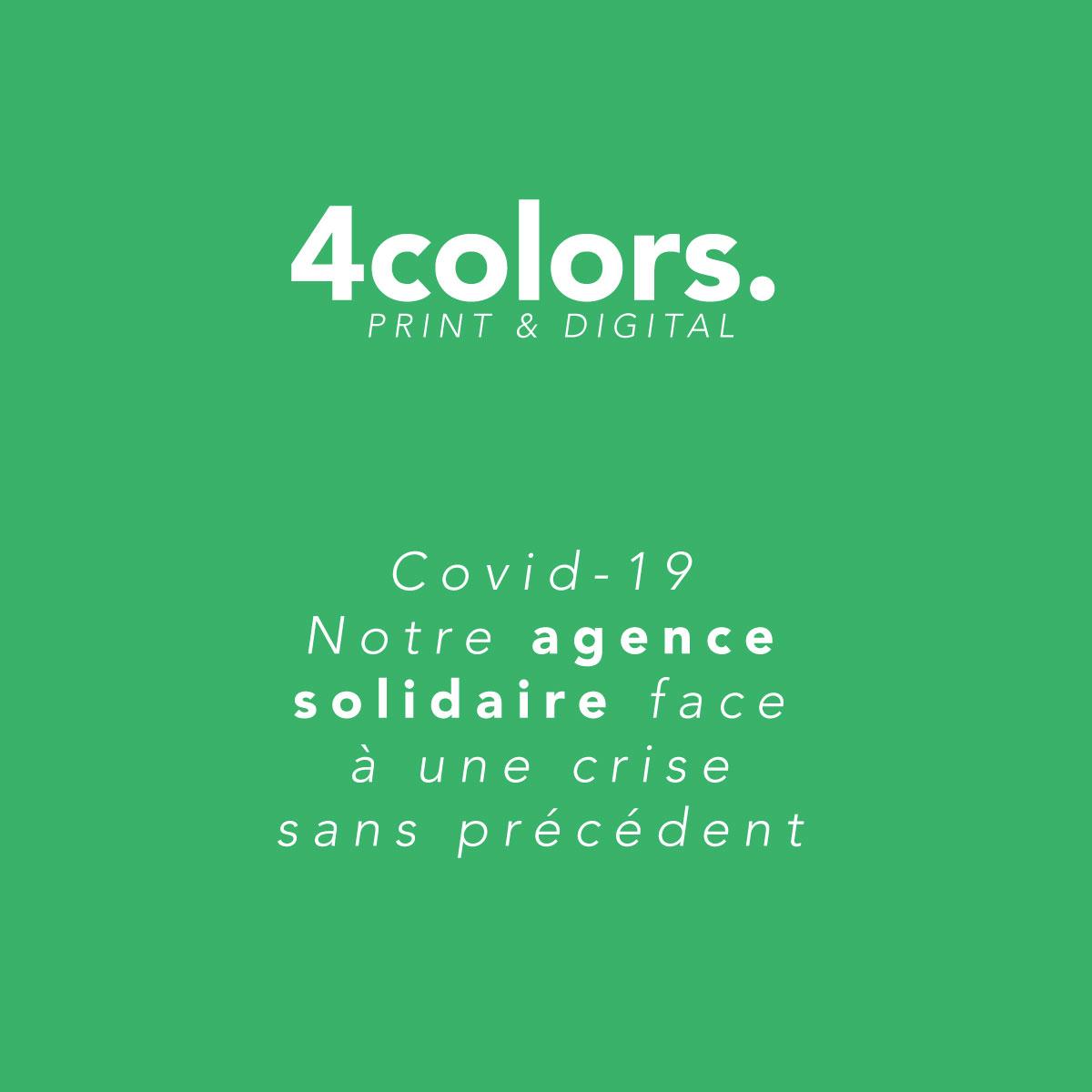 Covid-19 : Notre agence de communication solidaire face à une crise sans précédent