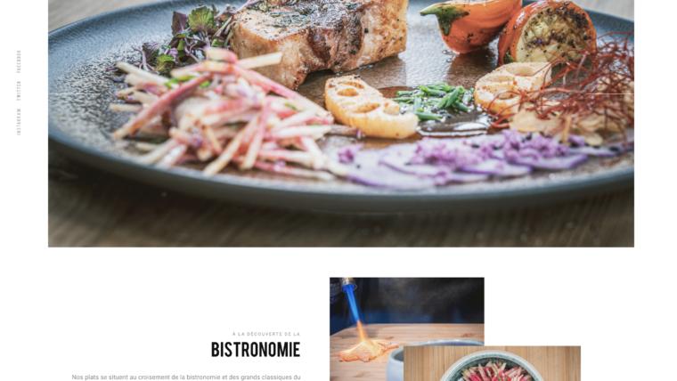 Création de site internet, Same Same streetfood, Lyon