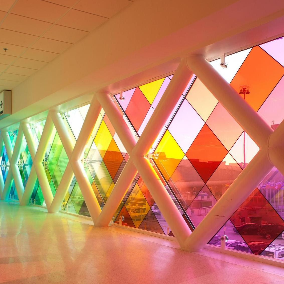 film adhésif transparent coloré crystal 4colors 2