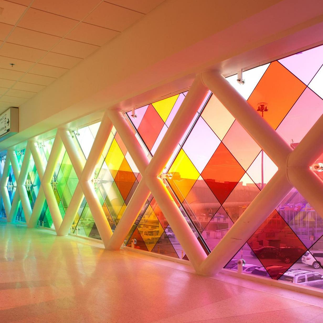 film adhésif transparent colore crystal 4colors