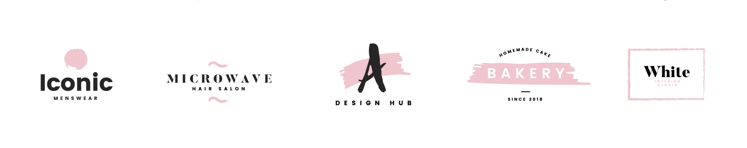 planche création de logo rose 4Colors