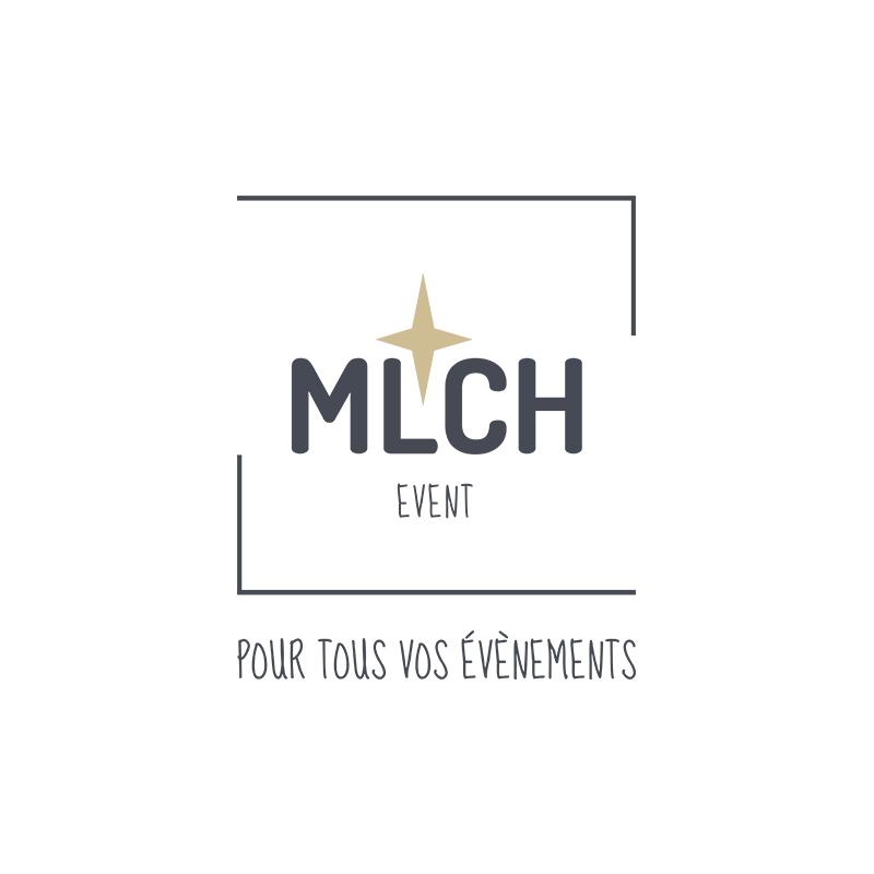 Création Logo MLCH EVEN Lyon bleu or