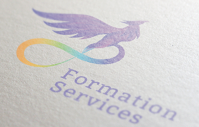 Création de logo formation service