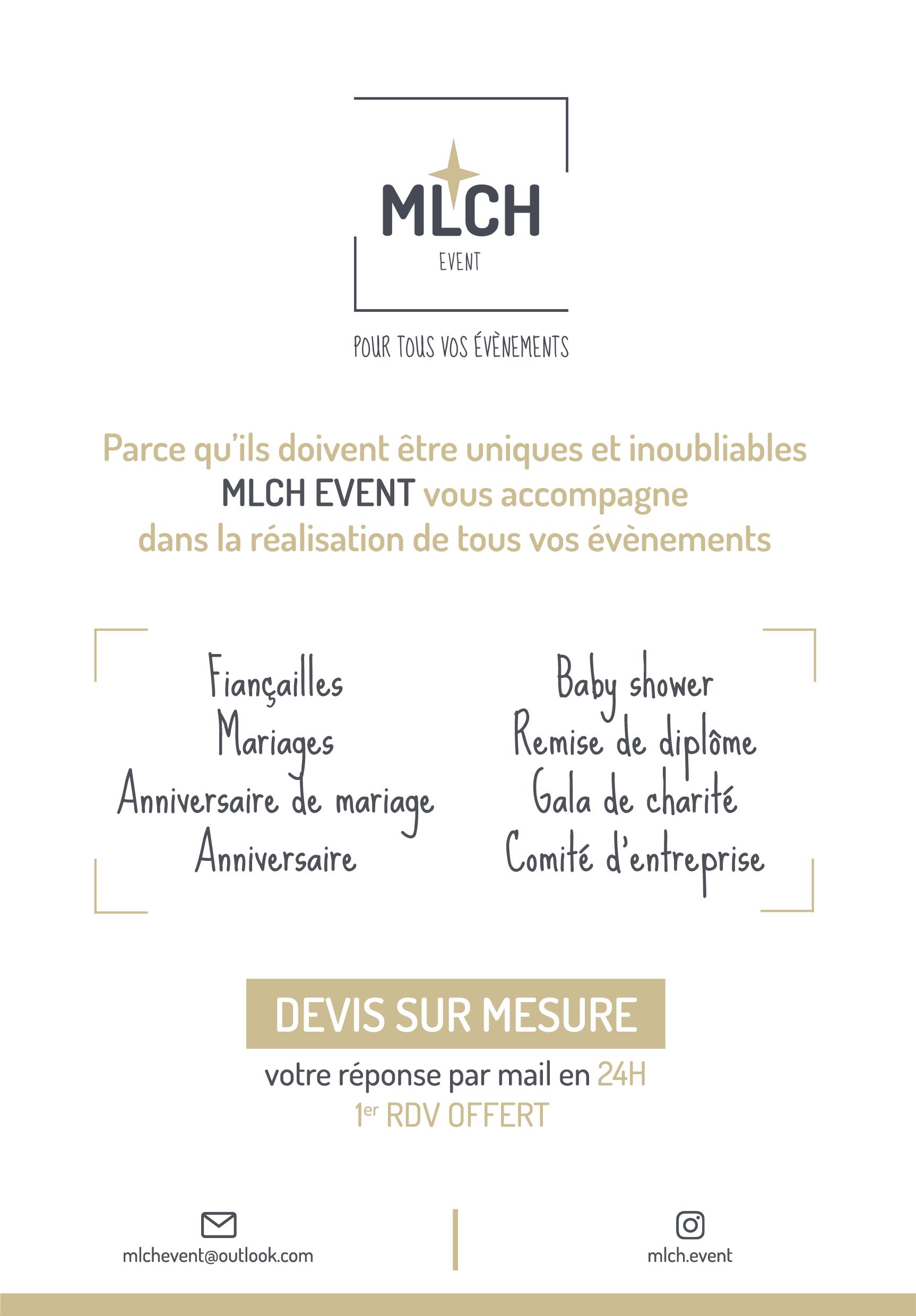 Création Flyer MLCH Event Lyon