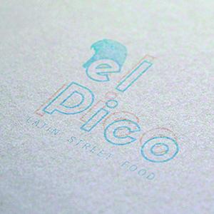 Refonte logo el pico restaurant lyon
