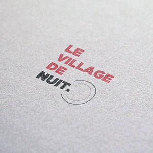 Logo le village de nuit la plateforme lyon