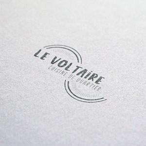 Refonte logo Restaurant le voltaire