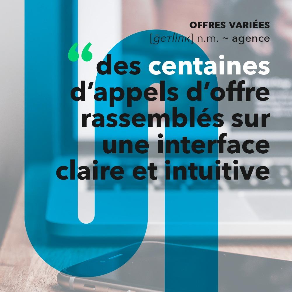Campagne de communication digitale pour Getlink Digital, réalisée par 4colors à Lyon