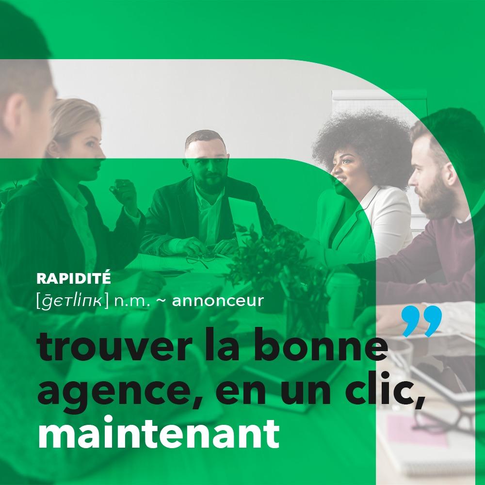 Stratégie digitale sponsorisée par Getlink Digital, réalisée par 4colors à Lyon
