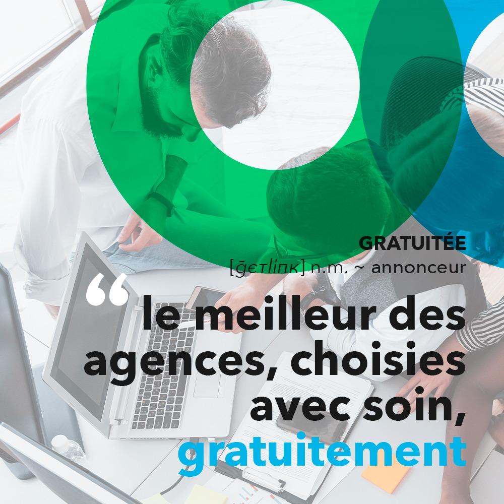 Campagne sponsorisée pour Getlink Digital, réalisée par 4colors à Lyon
