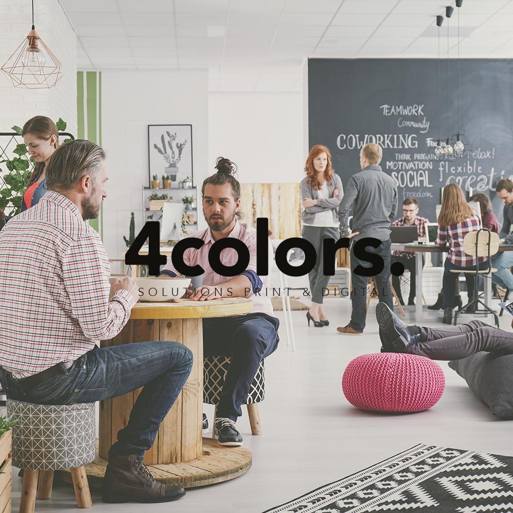4 Colors : Une agence de création graphique basée à Lyon