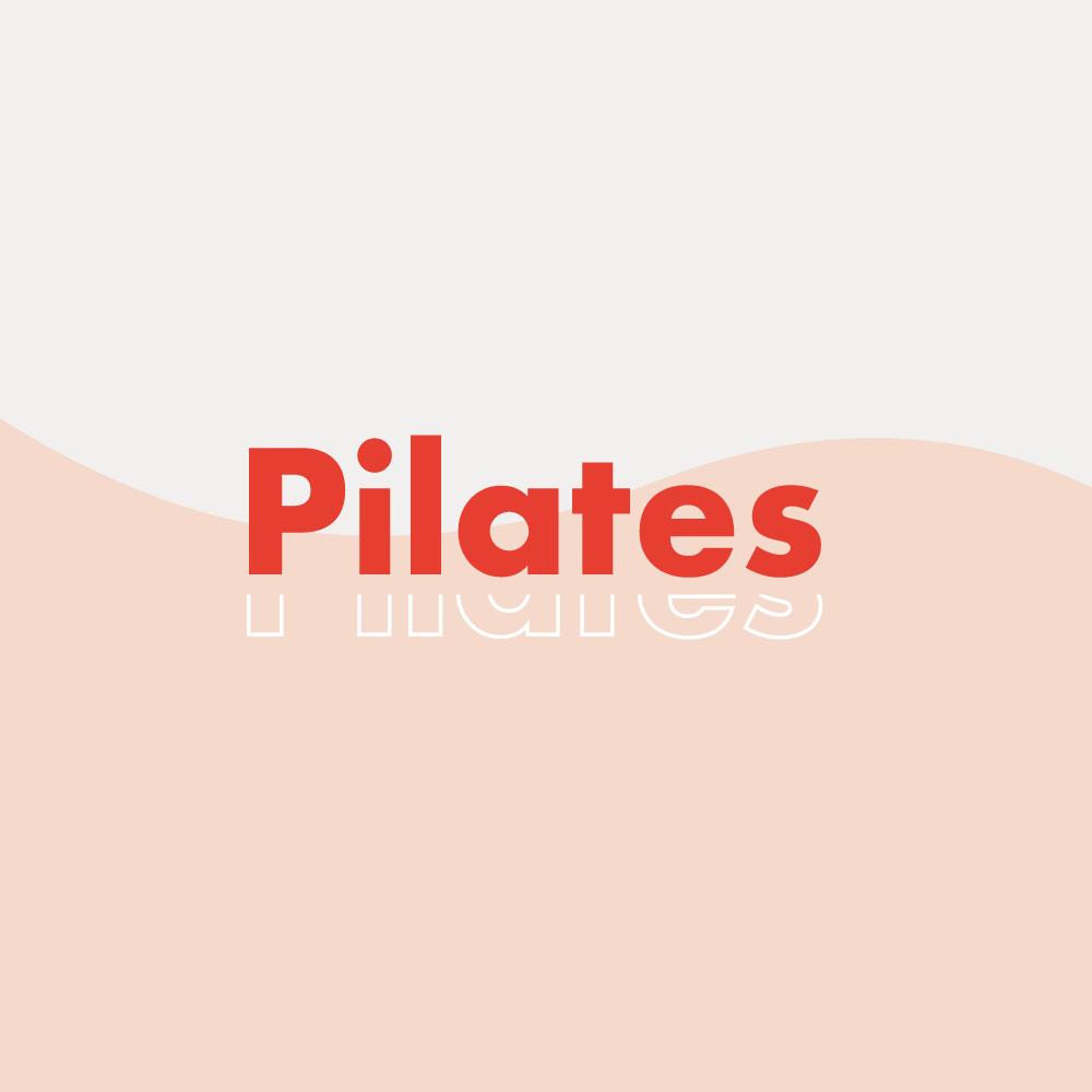 """Création de logo """"Pilates"""" Nude"""