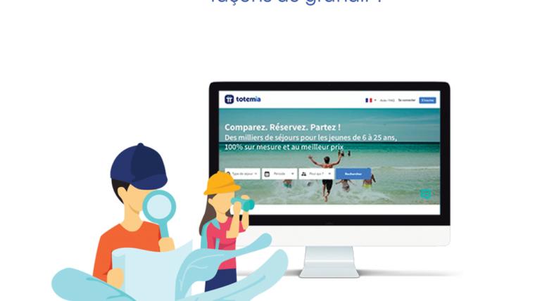 Création graphique de présentation corporate pour TOTEMIA