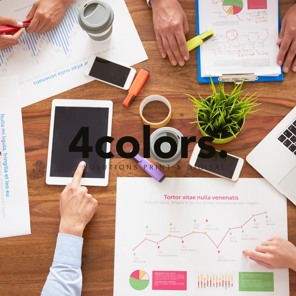 Comment réussir une création graphique corporate d'une présentation commerciale?