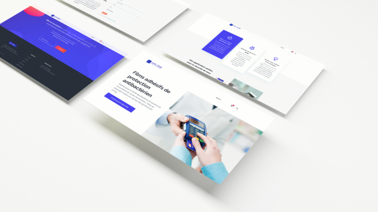 Création de site web & UI/UX design pour Safe Zone Lyon
