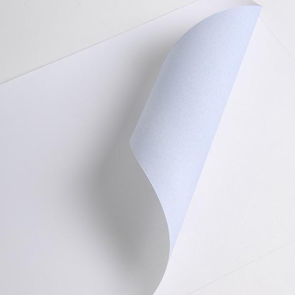 Impression numérique grand format papier dos bleu