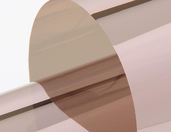 Film solaire adhésif pose intérieur couleur bronze